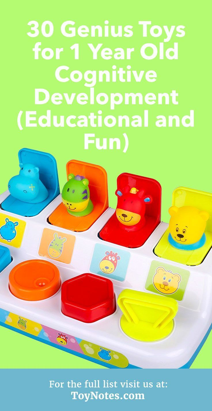 30 Genius Toys for 1 Year Old Cognitive Development ...