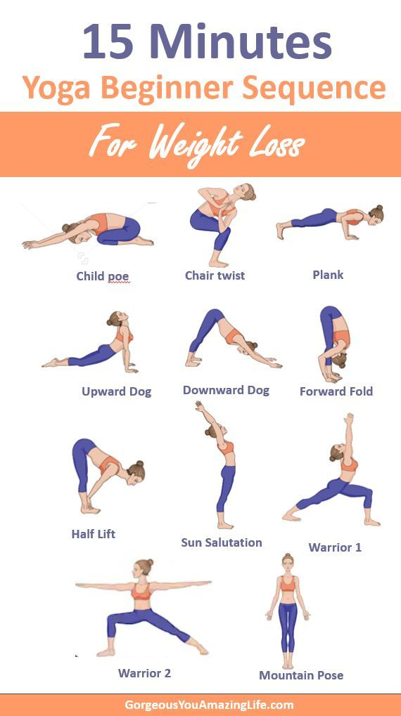 Use this 15 minutes weight loss yoga beginner poses to ...